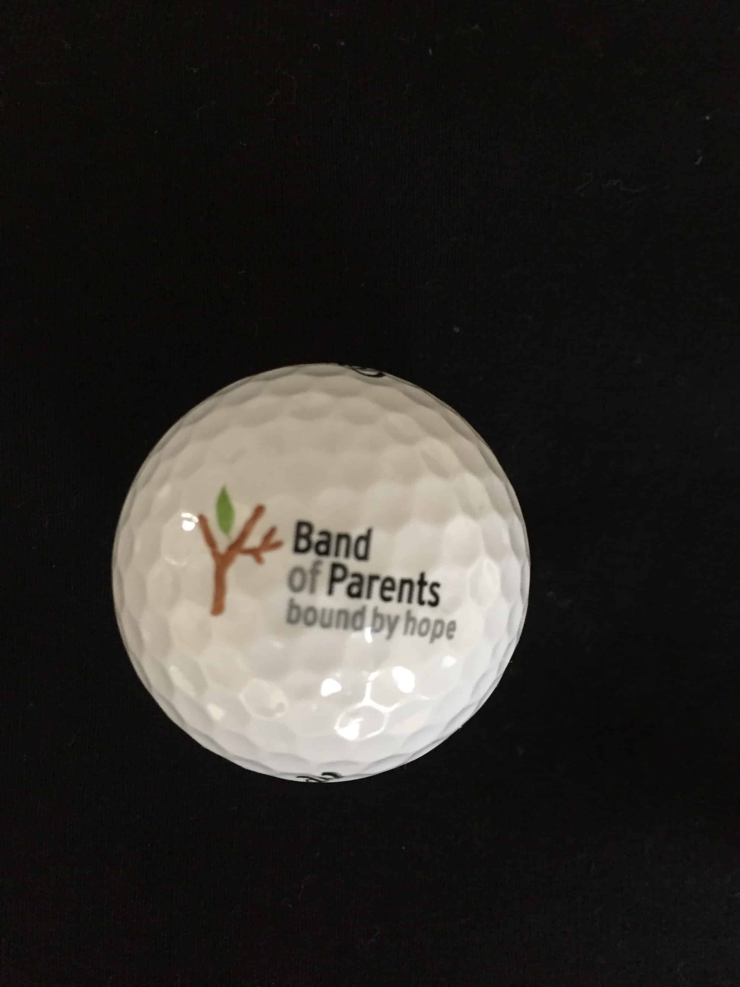 28d32d68c5aa The Callaway Chrome Dual Soft Fast Core golf balls have the Band of Parents  logo. 3 Pack- ...