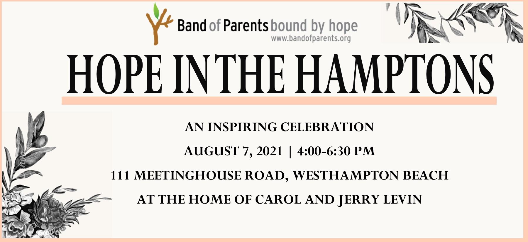Hope in the Hamptons Homepage Slide 2